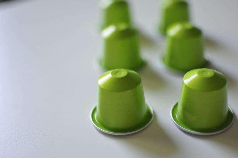 كبسوات قههوة خضراء