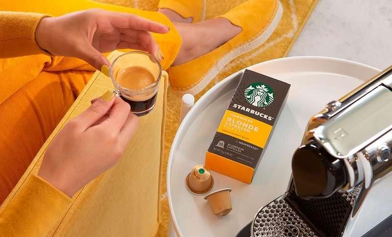 كبسولات ستاربكس للقهوة