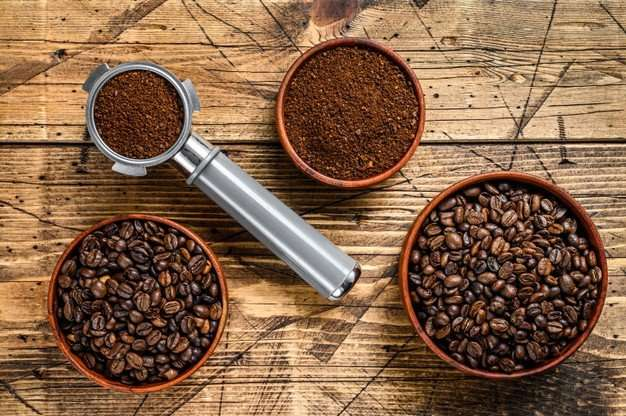 أنواع القهوة السوداء المختلفة