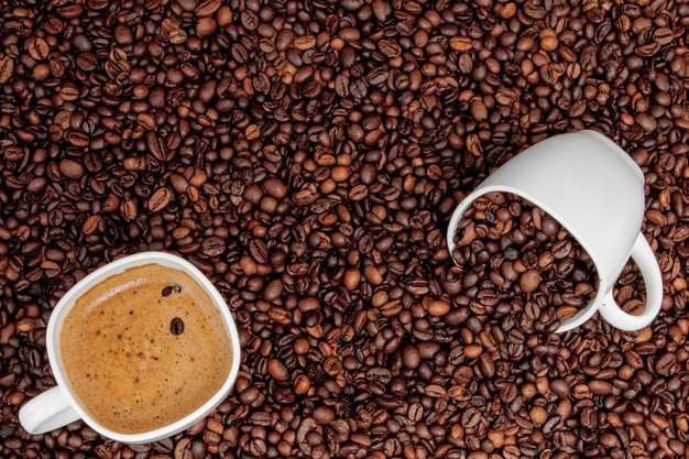 مما تتكون القهوة السوداء