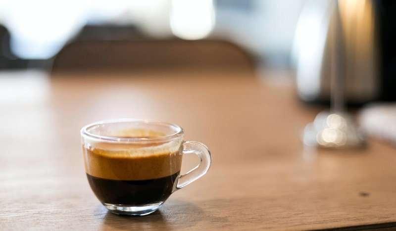 قهوة اسبريسو بدون كافيين