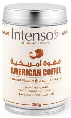 قهوة انتنسو أمريكية بالبندق