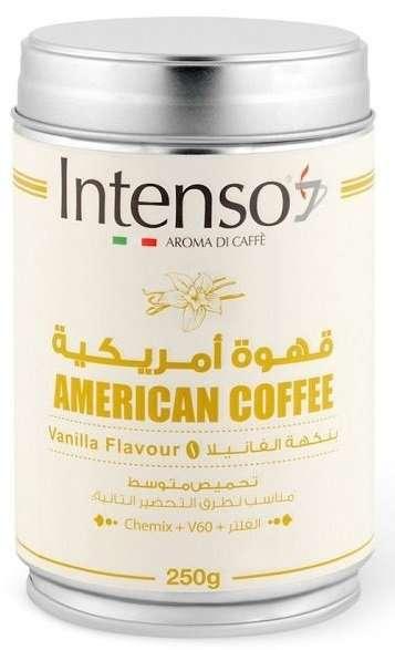 قهوة انتنسو أمريكية بالفانيليا