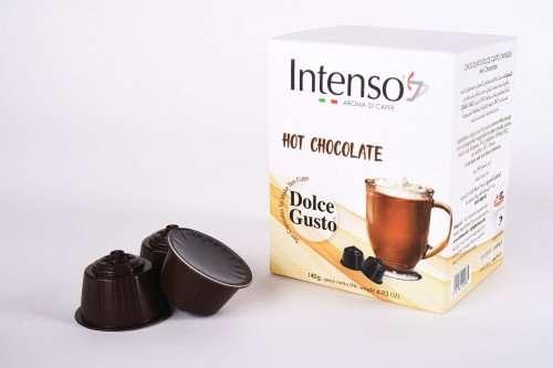 كبسولات انتنسو شوكولاتة ساخنة
