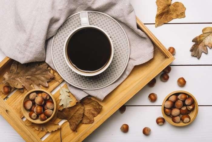 عدد السعرات الحرارية بالقهوة الفرنسية بالبندق
