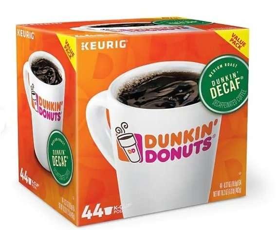 قهوة دانكن ديكاف