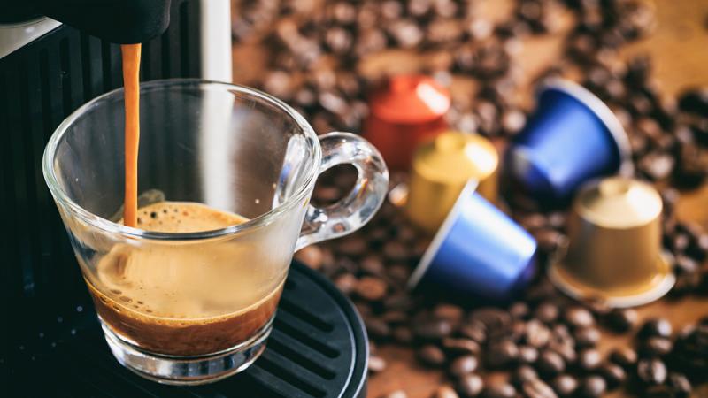 كبسولات قهوة ديكاف