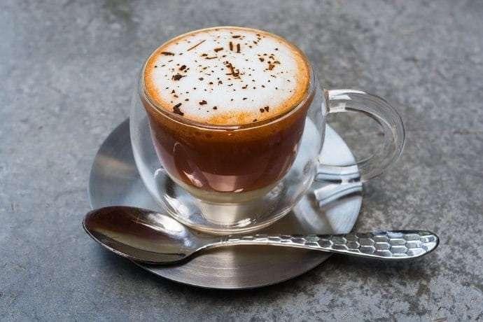 كوب قهوة زجاجي