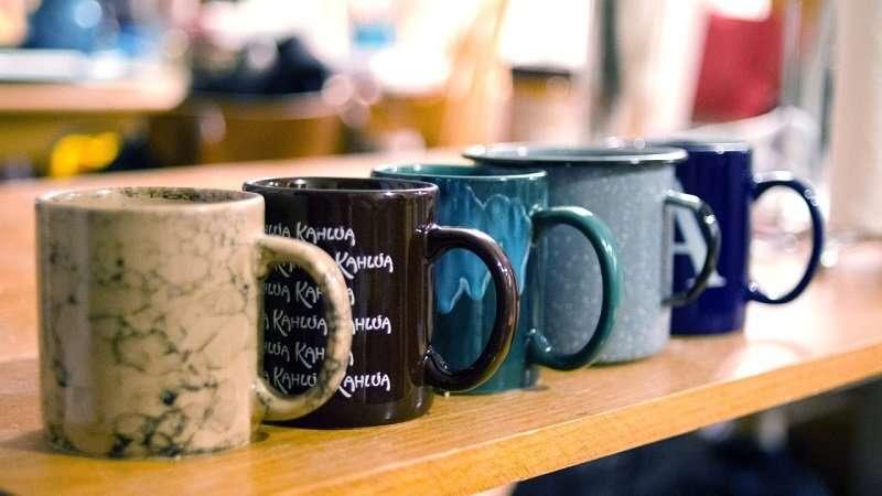 كوب قهوة ملون