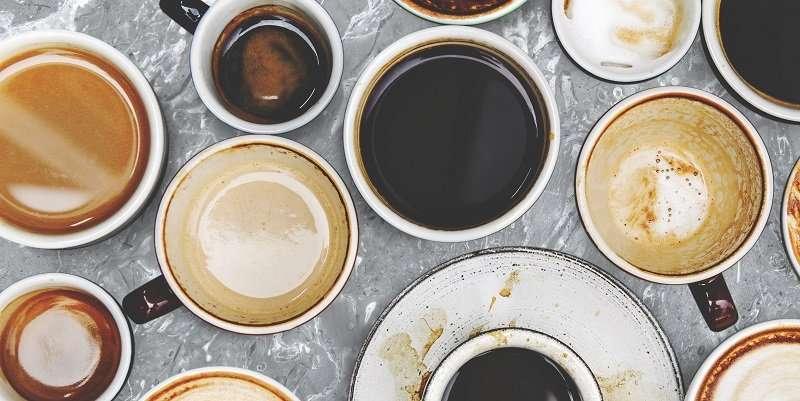 انواع فنجان قهوة