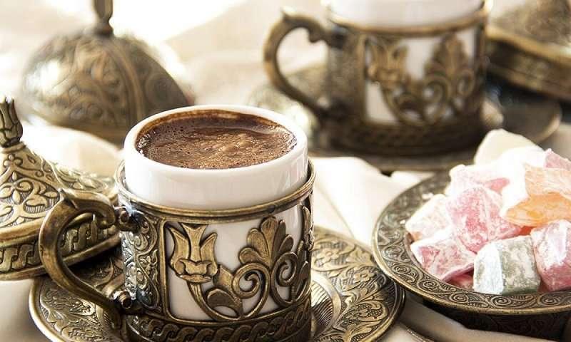 كوب قهوة تركي