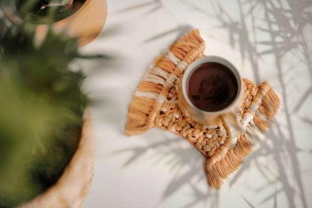 كوستر فنجان قهوة