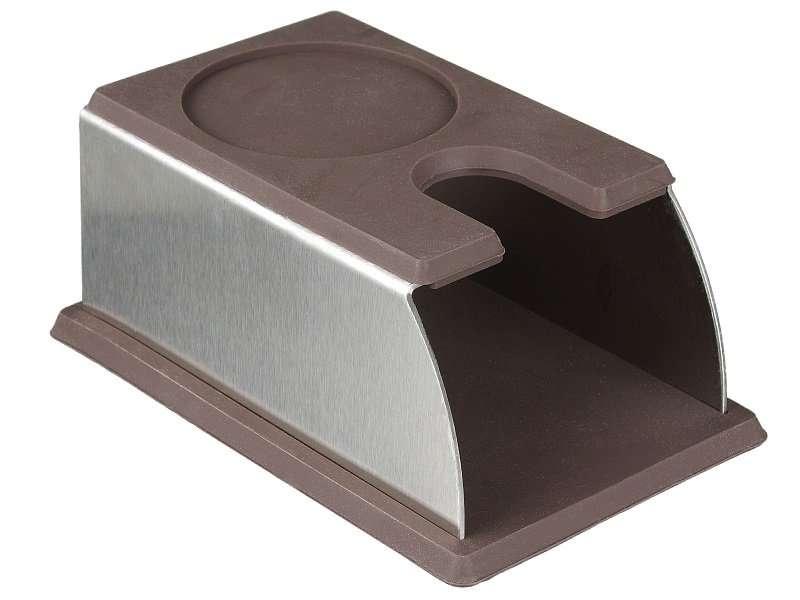 قاعدة كبس قهوة فولاذ ومطاط