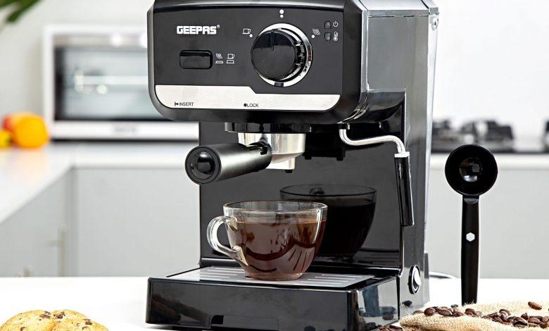 ماكينة قهوة جيباس